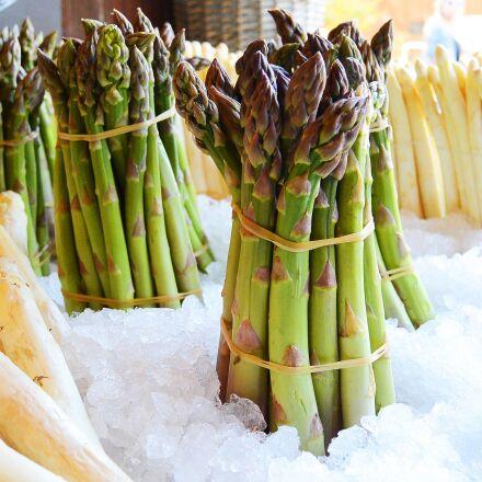 asparagus, eat, vegetables, Nikon 1 S1