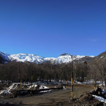 mountain, snow, cold, Nikon COOLPIX P300