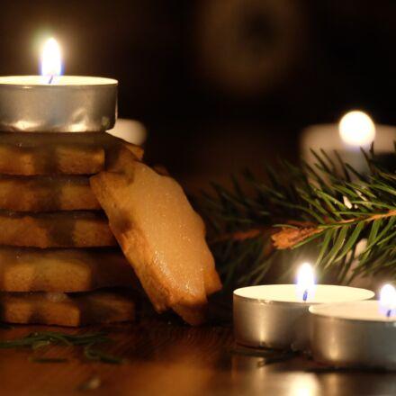 christmas, candles, decoration, Fujifilm X-A1