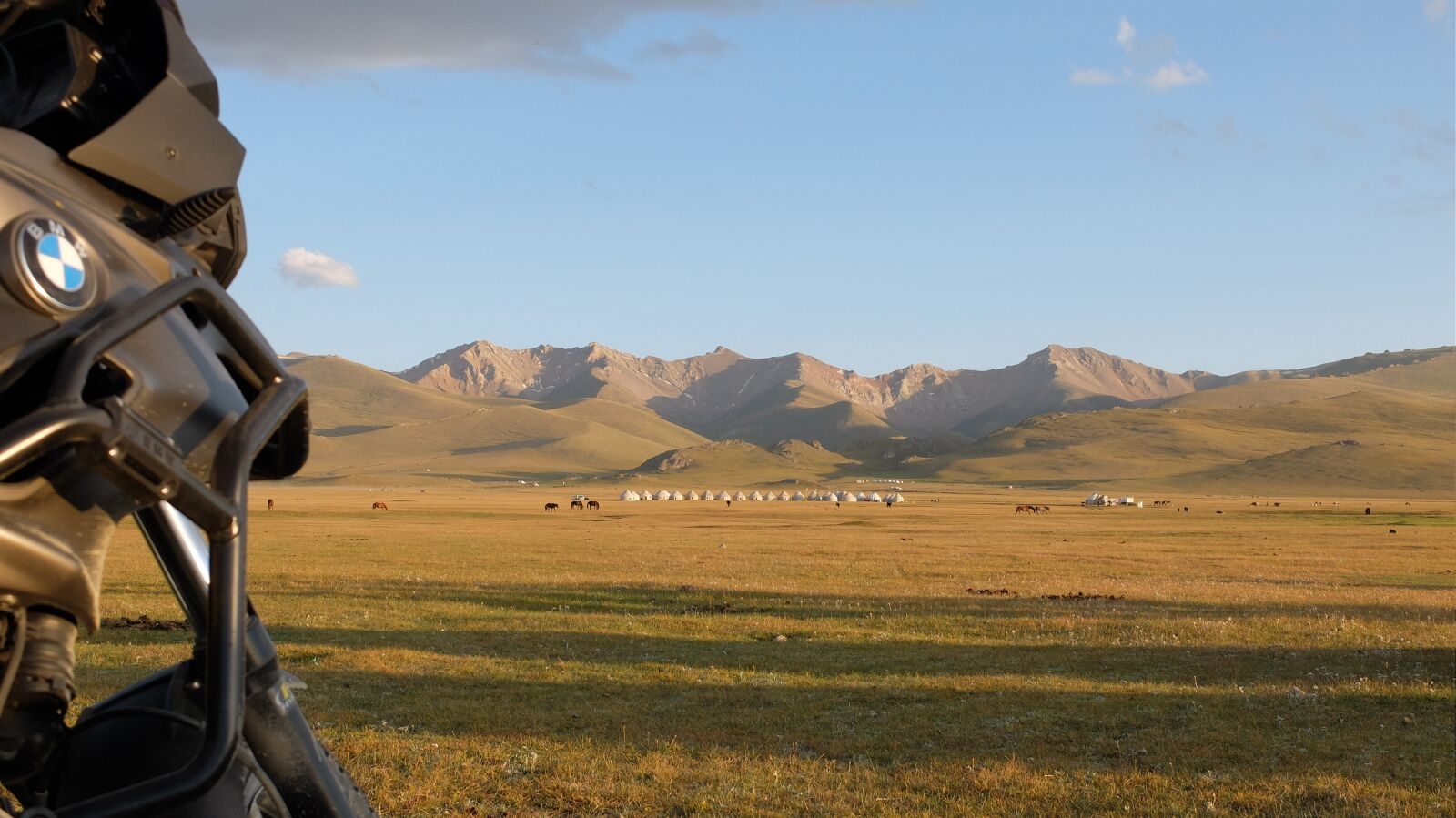 "Fujifilm X30 sample photo. ""Bmw, motorbike, kyrgyzstan"" photography"