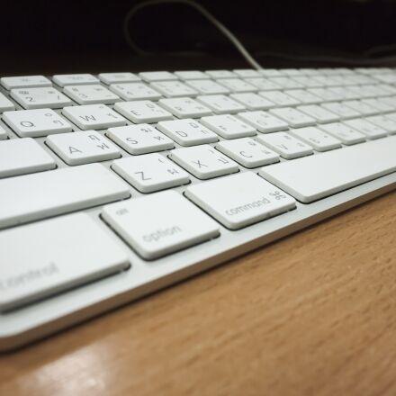 keyboard, computer, desk, Panasonic DMC-GF2