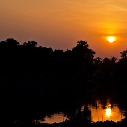 colorful, nature, sunset, Nikon D7200