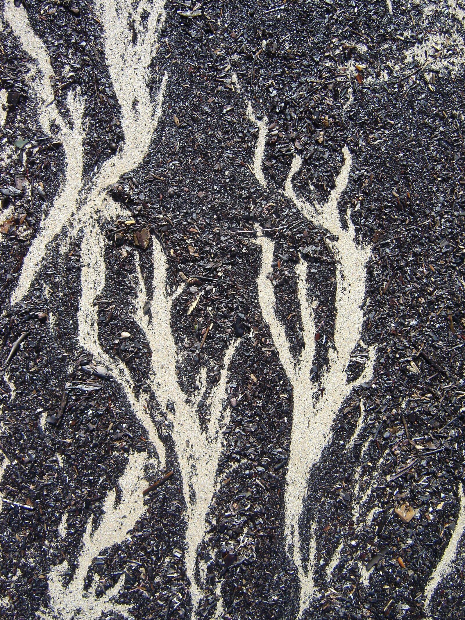 beach, sand, pattern