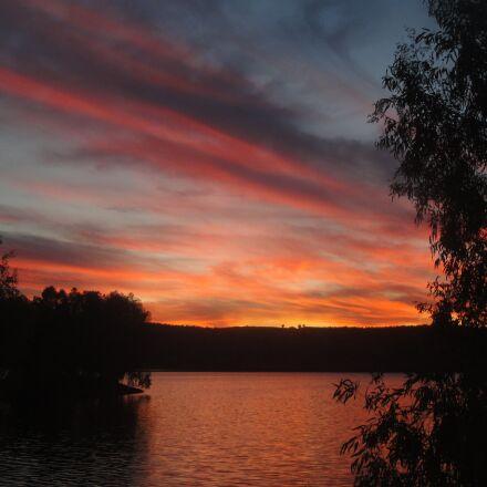 marsh, reservoir, lake, Sony DSC-W270