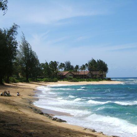 vacations, beach, hawaii, Fujifilm FinePix E550