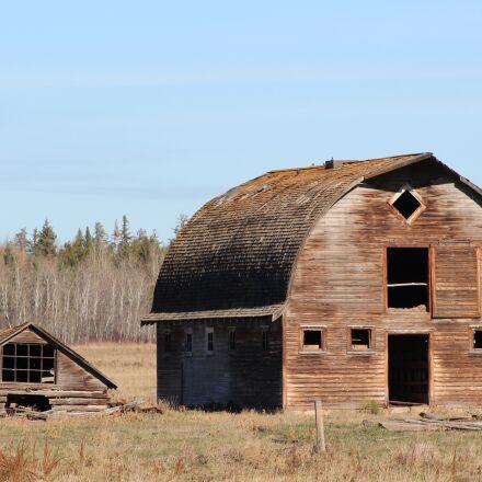 landscape, barn, building, Canon EOS REBEL T3I