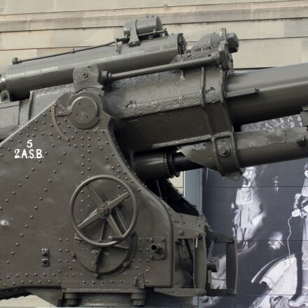gun, cannon, weapon, Olympus E-620