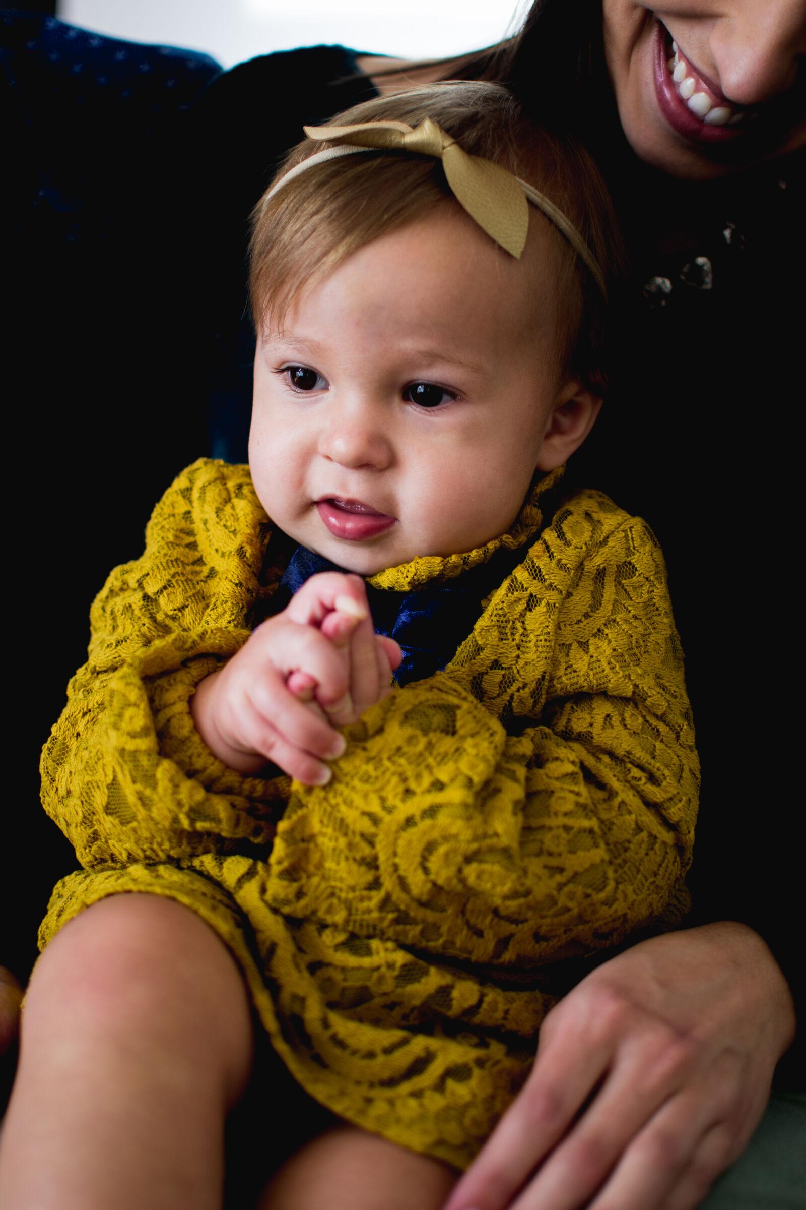 "Nikon D3100 sample photo. ""Adults, baby, girl, beautiful"" photography"