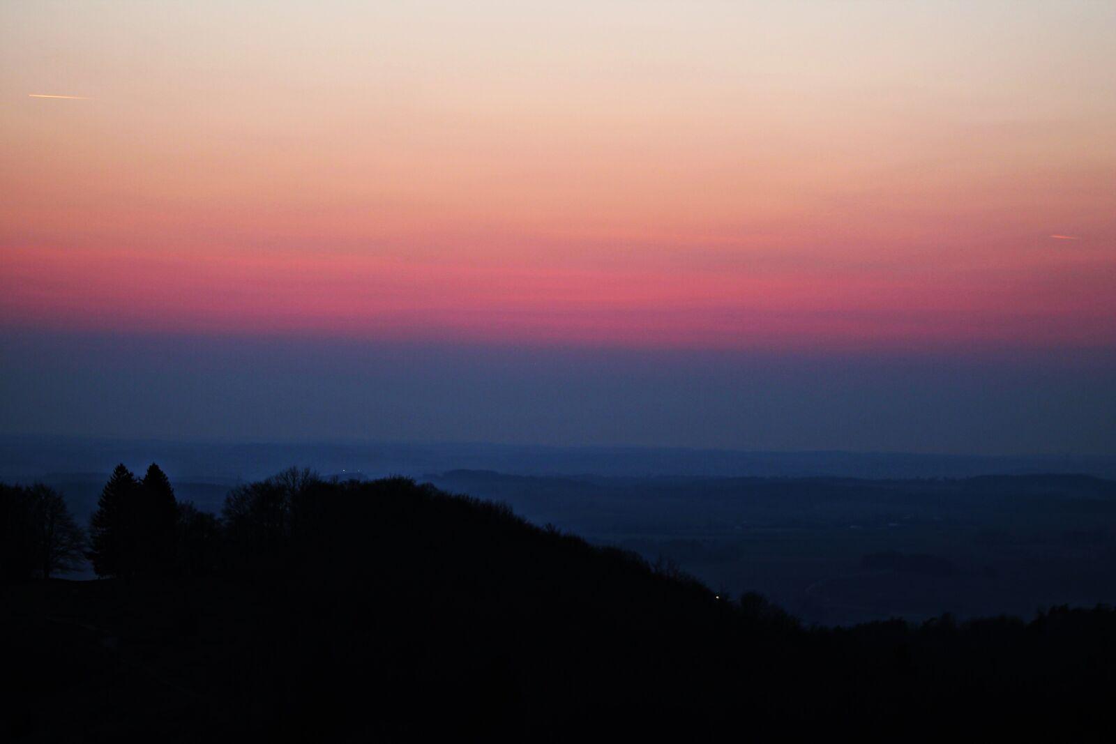 "Canon EOS 1100D (EOS Rebel T3 / EOS Kiss X50) sample photo. ""Twilight, silhouette, landscape"" photography"