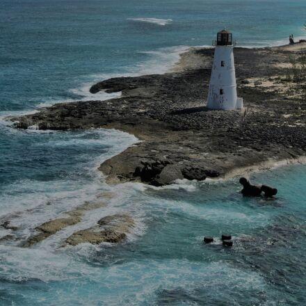 lighthouse, beach, coastline, Nikon 1 J1