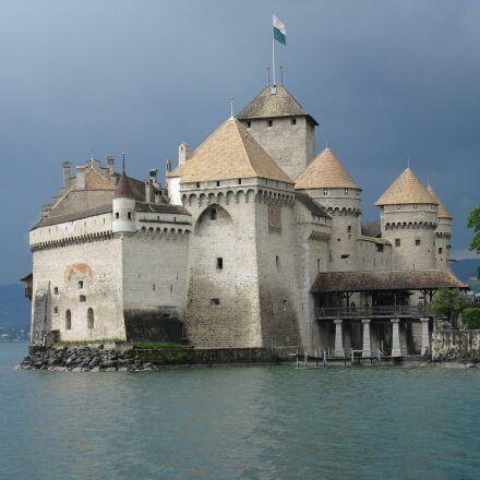 chillon castle, montreaux, switzerland, Canon POWERSHOT A2000 IS