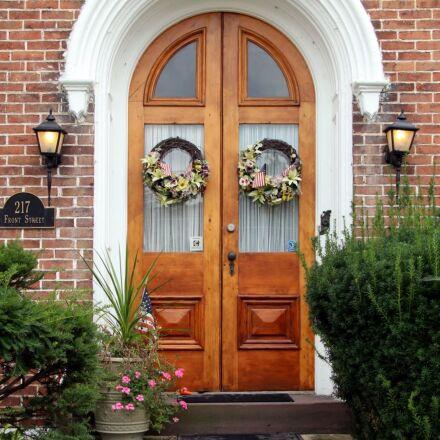 door, entrance, historic, building, Canon EOS REBEL T4I