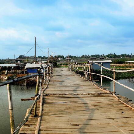 bridge, bamboo, tour, Canon EOS 70D