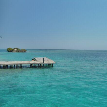 blanca, colombia, playa, Sony DSC-W510