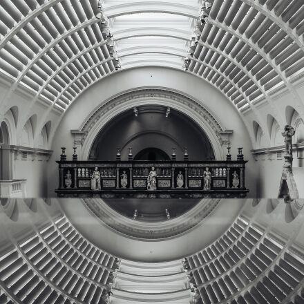 architecture, building, ceiling, Fujifilm X100S