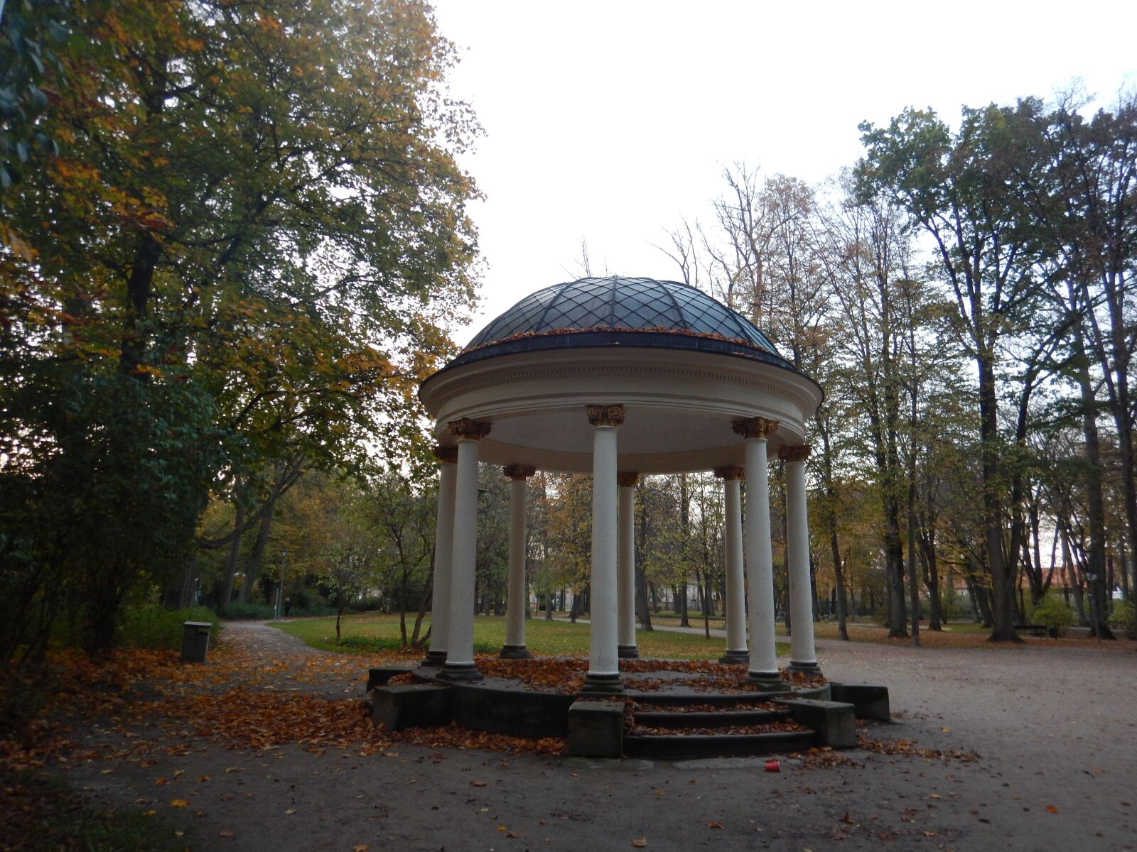 """Nikon Coolpix AW120 sample photo. """"Gazebo, autumn, park"""" photography"""