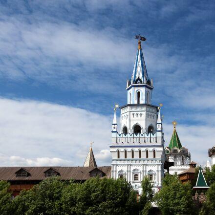 tower, the izmailovo kremlin, Canon EOS 650D
