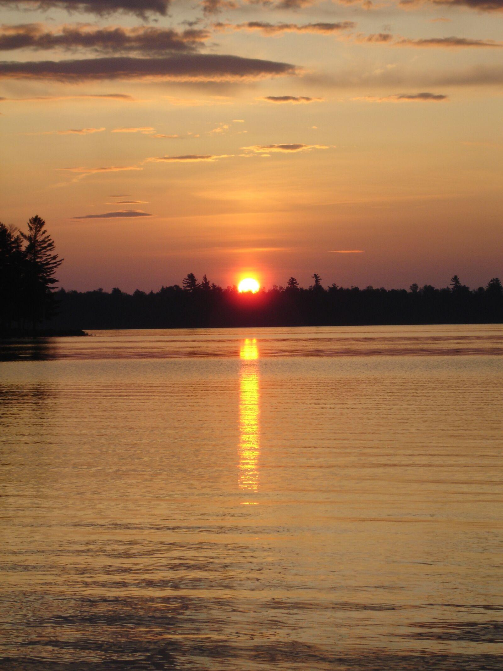 sunset, reflection, water