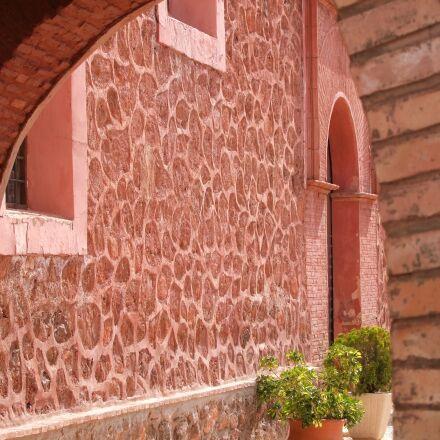 passage, house, masonry, Fujifilm FinePix S100FS