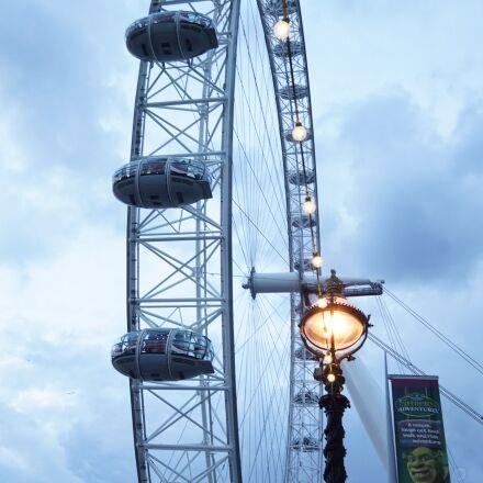 london eye, big wheel, Sony ILCE-6000