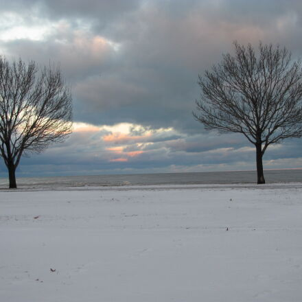 chicago, winter, lakefront, Canon POWERSHOT SX120 IS