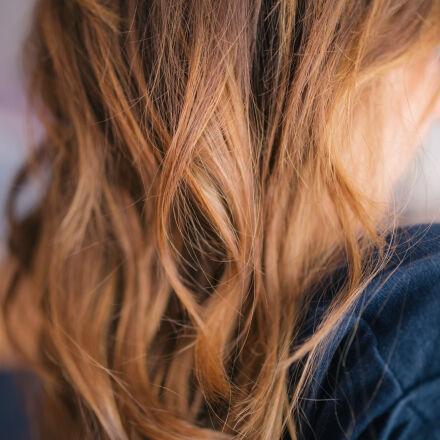 curly, girl, hair, sombre, Canon EOS 6D