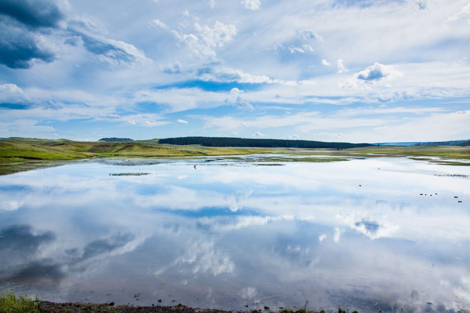 lake, landscape, reflection