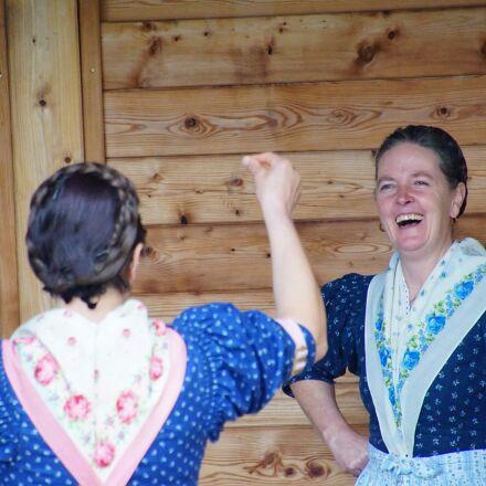 women, laugh, dance, Sony ILCA-77M2