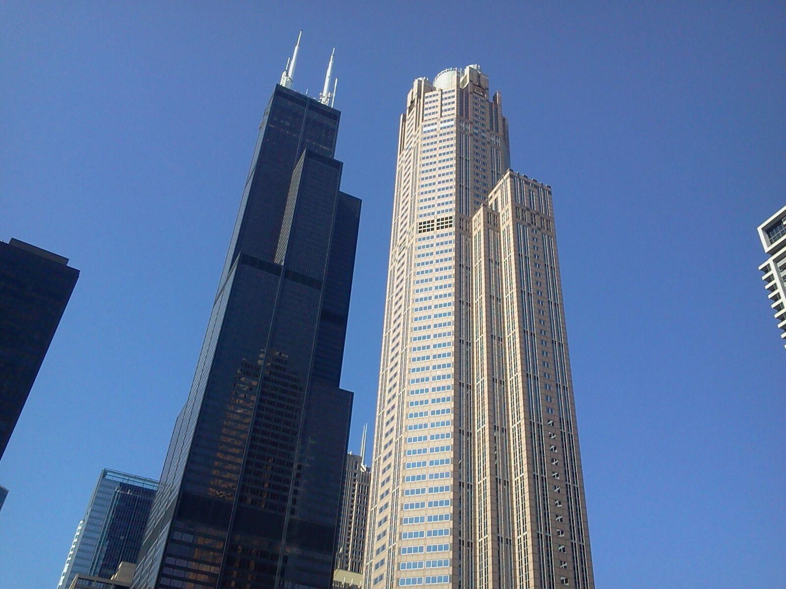 chicago, skyscraper, buildings