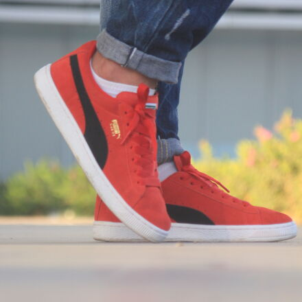 puma, reed, shoes, Canon EOS 550D