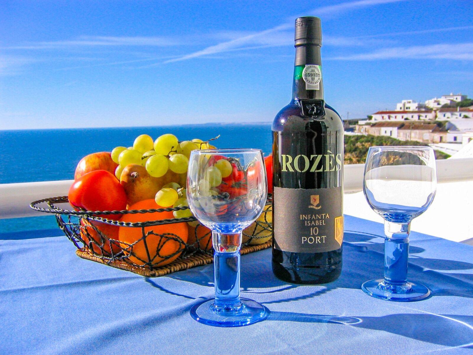 "Canon DIGITAL IXUS II sample photo. ""Wine, beach, benefit from"" photography"