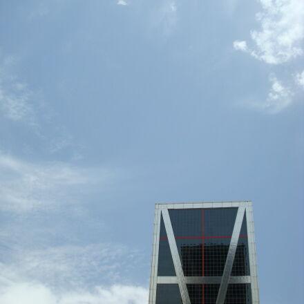 building, building, exterior, madrid, Sony DSC-W90