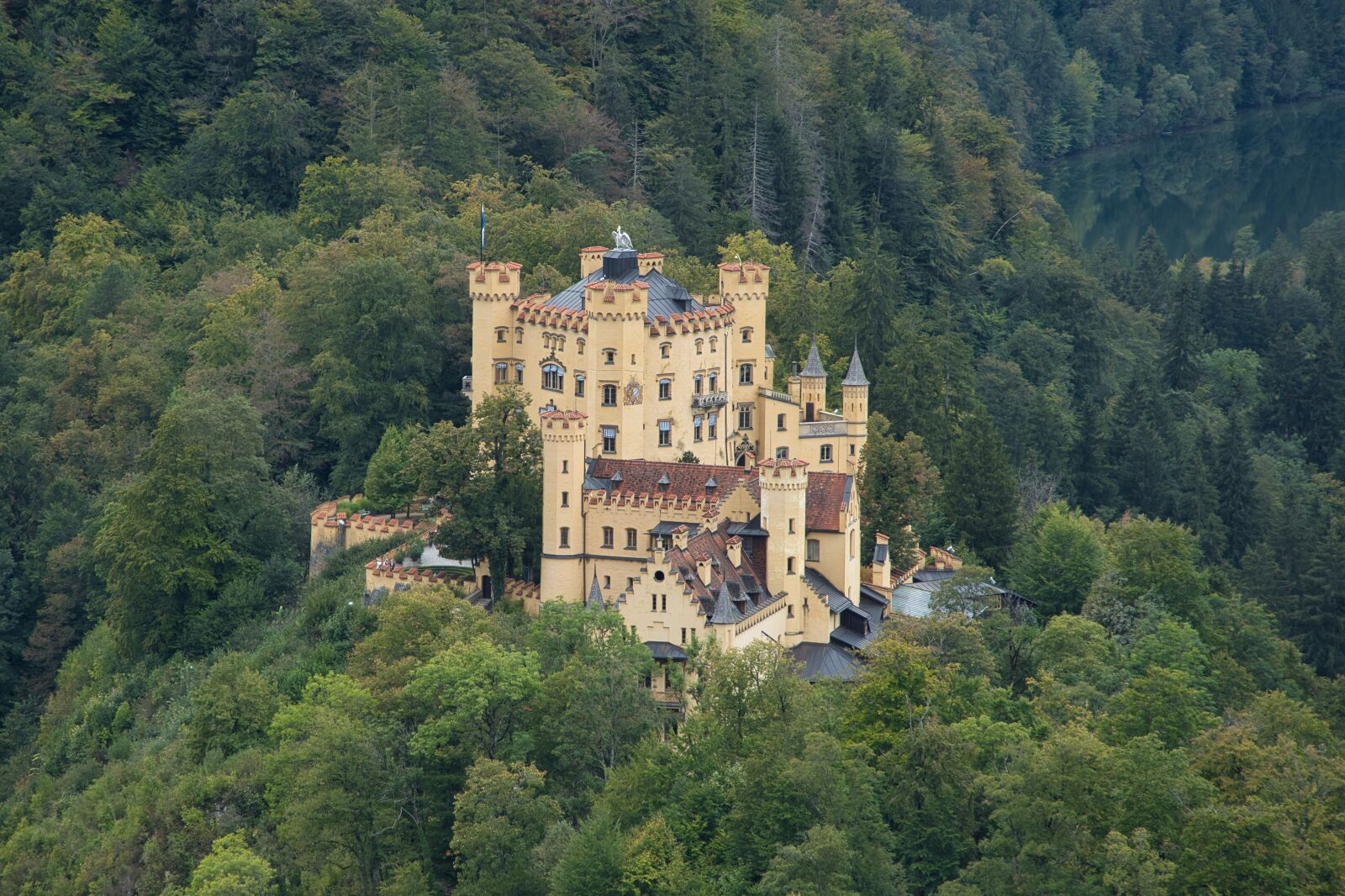 "Sony a6400 sample photo. ""Castle, hohenschwangau, bavaria"" photography"