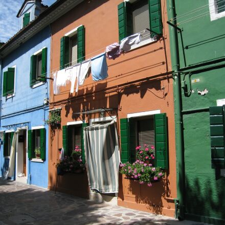 burano, italy, colorful, Canon DIGITAL IXUS 860 IS