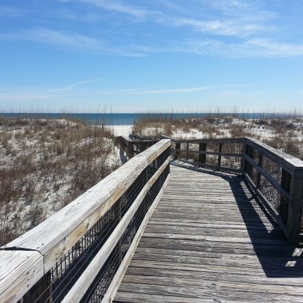 boardwalk, dunes, beach, Samsung SGH-I317
