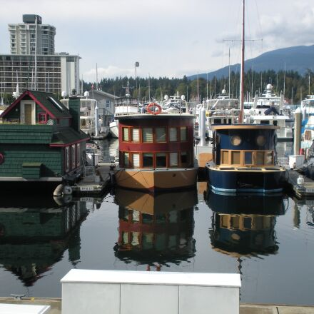 marina, residence, boat, Nikon COOLPIX S210