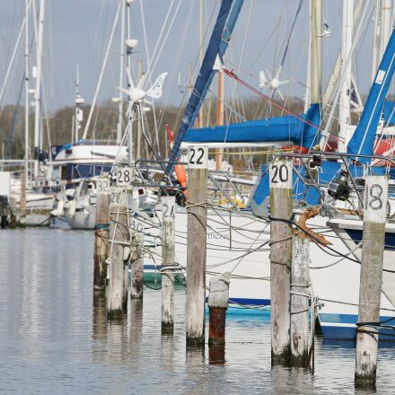 boats, harbour, water, Canon EOS 70D