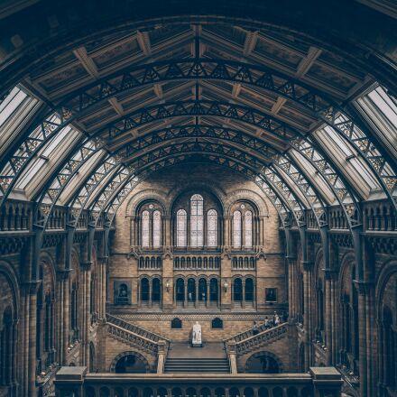 arches, museum, architecture, Fujifilm X100S
