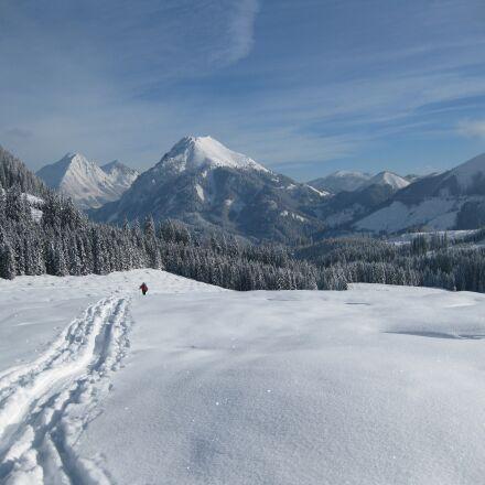 snow, mountain, winter, Canon DIGITAL IXUS 85 IS