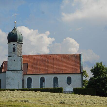 allgäu, church, summer, Nikon COOLPIX S3700
