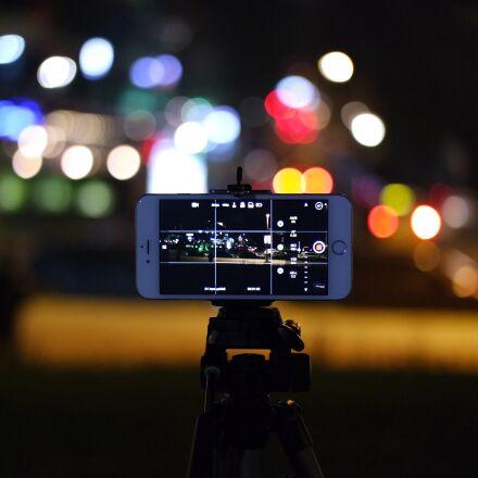 city, lights, night, iphone, Samsung NX3000