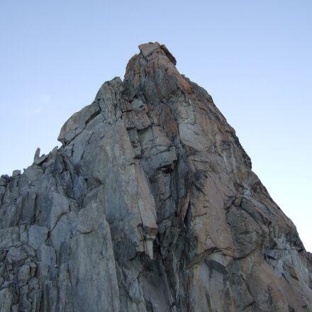 rock, stones, sky, Fujifilm FinePix F30