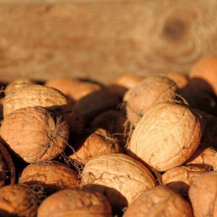 walnuts, bark, nuts, Samsung NX30