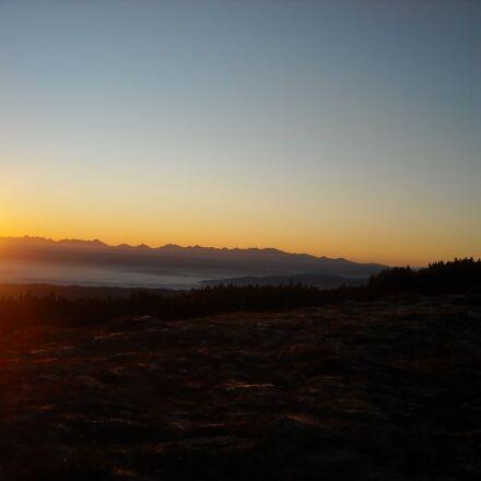 east, mountains, pilsko, Nikon COOLPIX L18