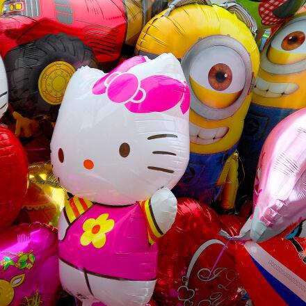 balloons, theme, i, see, Nikon D40X