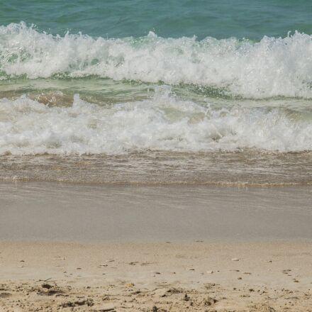 marine, wave, beach, Canon EOS 500D