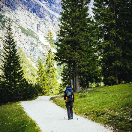 road, landscape, nature, person, Canon EOS 5D MARK III