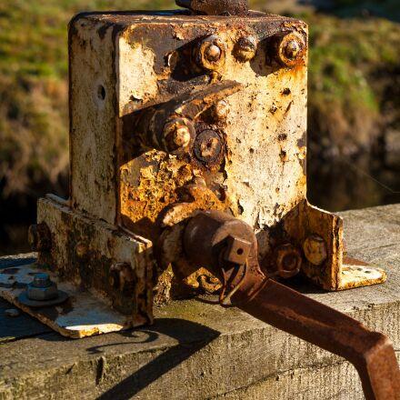 rust, metal, corrosion, Pentax K10D
