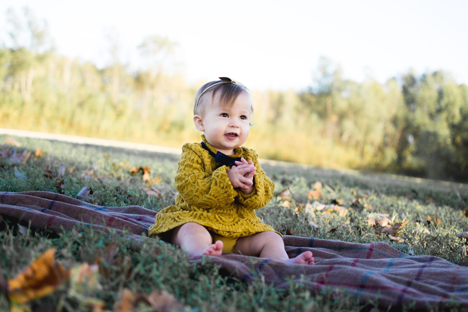 "Nikon D3100 sample photo. ""Baby, wearing, yellow, crochet"" photography"