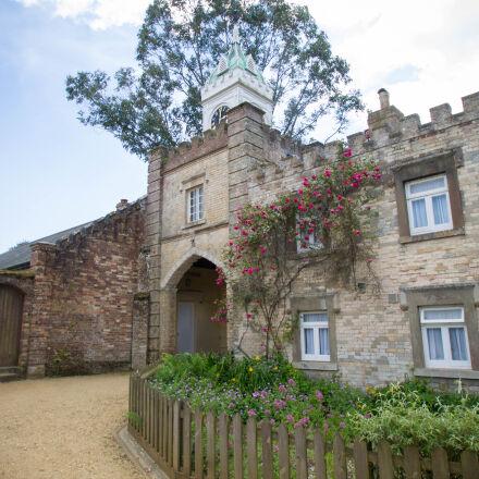 castle, gatehouse, Canon EOS 1100D